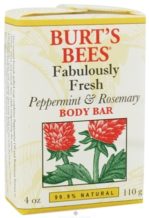 DROPPED: Burt's Bees - Body Bar Fabulously Fresh Peppermint & Rosemary - 4 oz. CLEARANCE PRICED