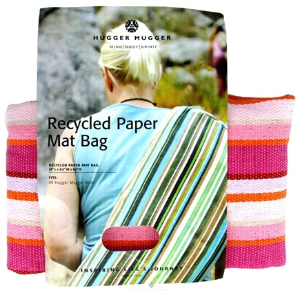 Zoom View - Recycled Paper Yoga Mat Bag