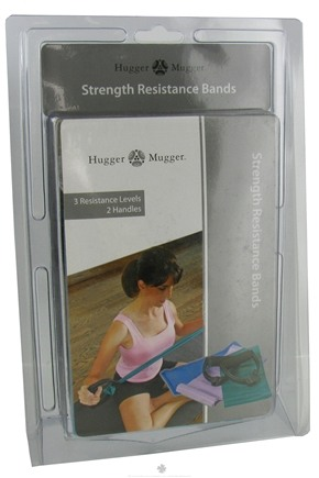 DROPPED: Hugger Mugger Yoga Products - Strength Resistance Bands for Pilates - CLEARANCE PRICED