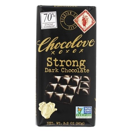 Chocolove - Dark Chocolate Bar Strong Dark - 3.2 oz.