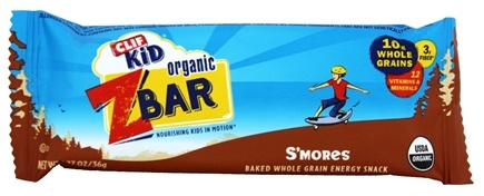 Clif Bar - Kid Z-Bar Organic S'mores - 1.27 oz. Seasonally Called Spooky S'mores