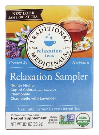 Zoom View - Relaxation Herb Tea Sampler