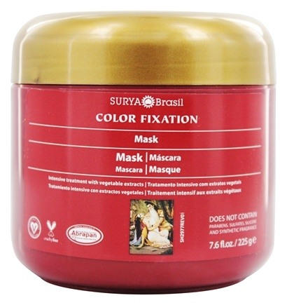Zoom View - Henna Color Fixation Intensive Treatment Restorative Mask