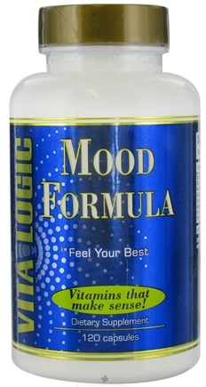 DROPPED: Vita Logic - Mood Formula - 120 Capsules