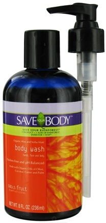 DROPPED: Save Your World - Save Your Body Body Wash Oasis Fruit - 8 oz. CLEARANCE PRICED