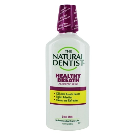 Natural Dentist - Natural Antiseptic Mouth Rinse Cool Mint - 16.9 oz.