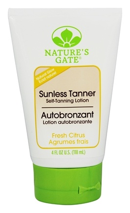 Nature's Gate - Sunless Tanner Self-Tanning Lotion Fresh Citrus - 4 oz.