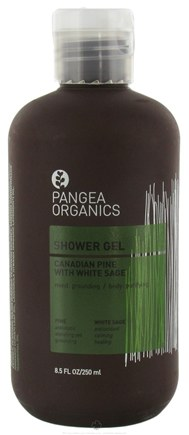 DROPPED: Pangea Organics - Shower Gel Grounding & Purifying Canadian Pine With White Sage - 8.5 oz.