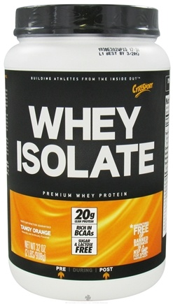 DROPPED: Cytosport - Whey Isolate Premium Whey Protein Tangy Orange - 32 oz. CLEARANCE PRICED