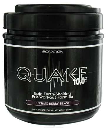 Zoom View - Quake 10.0 Pre Workout Formula