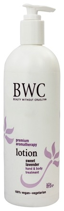 DROPPED: Beauty Without Cruelty - Lotion Hand & Body Treatment Sweet Lavender - 16 oz.