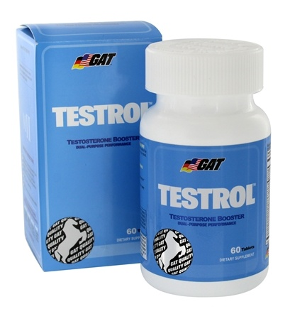 DROPPED: GAT - Testrol Anabolic & Potency Activator Extended Release 2000 mg. - 60 Tablets CLEARANCE PRICED
