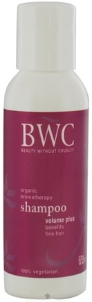 DROPPED: Beauty Without Cruelty - Shampoo Volume Plus For Fine Hair Travel Size - 2 oz. CLEARANCE PRICED