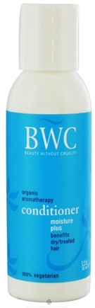 DROPPED: Beauty Without Cruelty - Conditioner Moisture Plus For Dry Treated Hair Travel Size - 2 oz. CLEARANCE PRICED