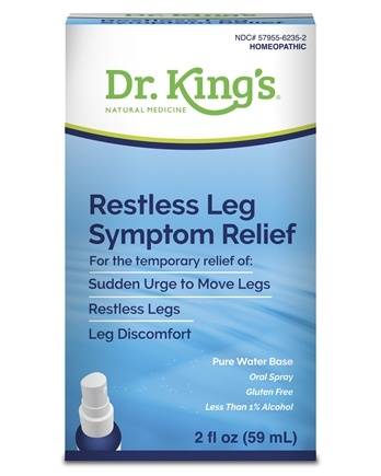King Bio - Homeopathic Natural Medicine Restless Leg Syndrome - 2 oz.