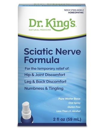 King Bio - Homeopathic Natural Medicine Sciatic Free - 2 oz.