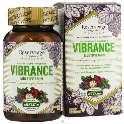 DROPPED: Reserveage Nutrition - Vibrance Multivitamin - 60 Tablets