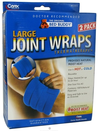 DROPPED: Bed Buddy - Thermatherapy Joint Wraps Large Navy - 2 Pack CLEARANCE PRICED