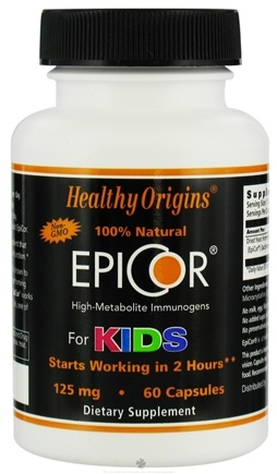 Zoom View - 100% Natural EpiCor High-Metabolite Immunogens For Kids