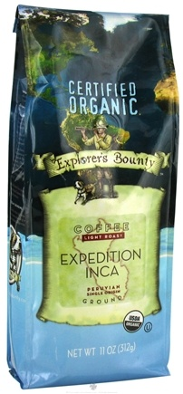 DROPPED: Explorer's Bounty - Organic Coffee Expedition Inca - 11 oz.