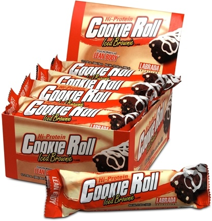 Zoom View - Hi-Protein Cookie Roll Bar