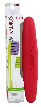 Radius - Standard Toothbrush Travel Case for Source Toothbrush & All Major Brands