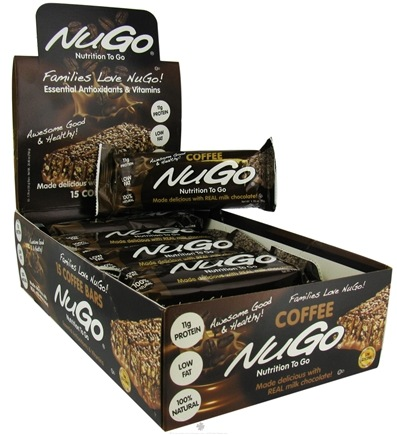 DROPPED: NuGo Nutrition - To Go Protein Bar Coffee - 1.76 oz.