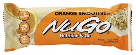 NuGo Nutrition - To Go Protein Bar Orange Smoothie - 1.76 oz.