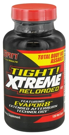 DROPPED: SAN Nutrition - Tight! Xtreme Reloaded - 120 Capsules CLEARANCE PRICED