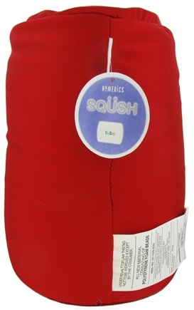 DROPPED: HoMedics - SQUSH Tube Pillow SQ-TUBE-R Red - CLEARANCE PRICED
