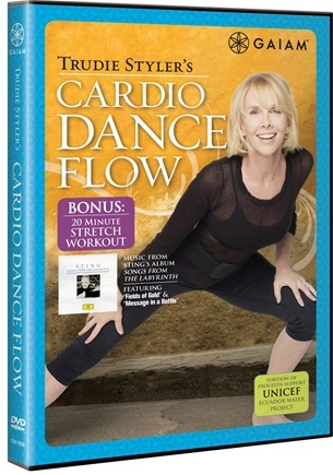Zoom View - Trudie Styler's Cardio Dance Flow DVD