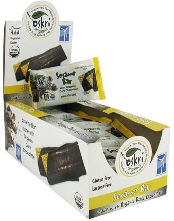 Zoom View - Organic Dark Chocolate Bars Sesame