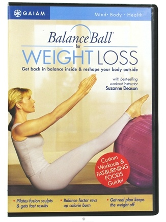 Zoom View - BalanceBall for Weight Loss DVD with Suzanne Deason