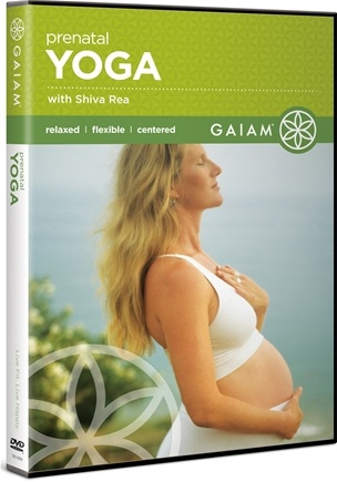 DROPPED: Gaiam - Prenatal Yoga DVD with Shiva Rea - CLEARANCE PRICED