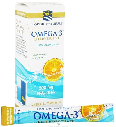 Zoom View - Omega-3 Effervescent