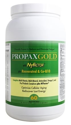 Nutritional Therapeutics - Propax Gold with NT Factor plus Resveratrol & Co-Q10 - 60 Packet(s)