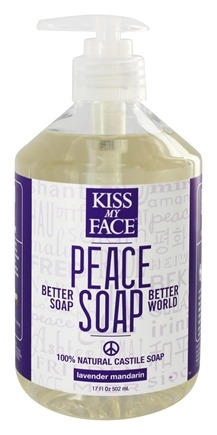 Zoom View - Peace Soap 100% Natural All Purpose Castile Soap