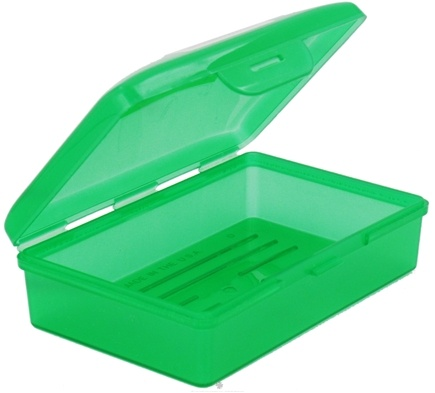 Radius Soap Bar Travel Case Holder Container Colors Will Vary