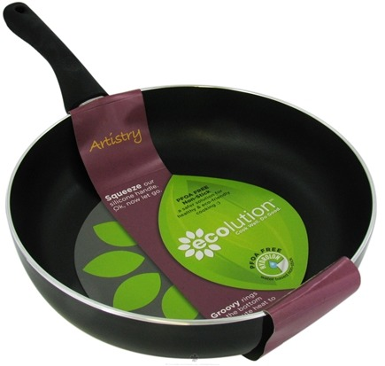 Buy Ecolution Artistry Eco Friendly 11 inch Deep Chef Pan from luckyvitamin.com
