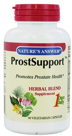 DROPPED: Nature's Answer - ProstSupport - 60 Vegetarian Capsules CLEARANCE PRICED