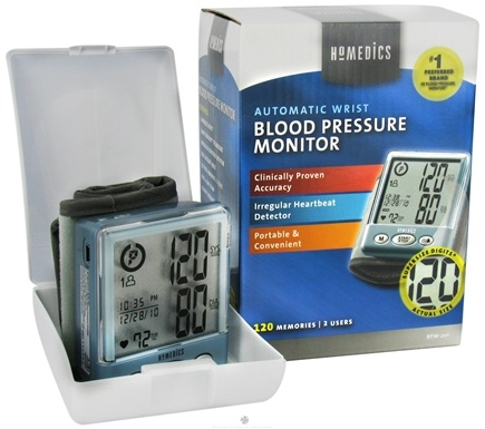 DROPPED: HoMedics - Automatic Wrist Blood Pressure Monitor BPW-201 - CLEARANCE PRICED