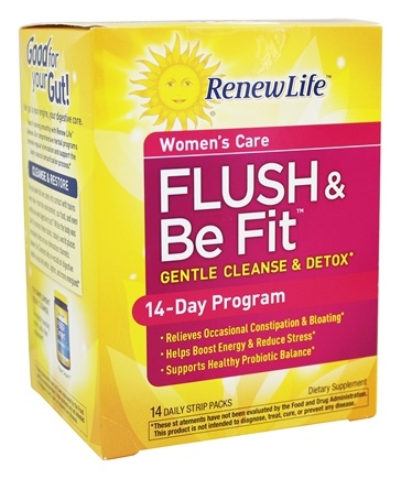 Zoom View - Brenda Watson's Vital Woman Flush & Be Fit 3 Part Kit Plus Probiotcs