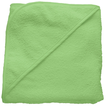 "DROPPED: Green Sprouts - Organic Woven Terry Hooded Towel 29.5"" x 29.5"" Sage Green"