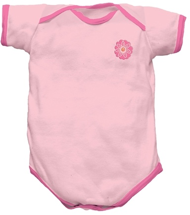 Zoom View - Origins Organic Bodysuit Short Sleeve Small 3-6 Months
