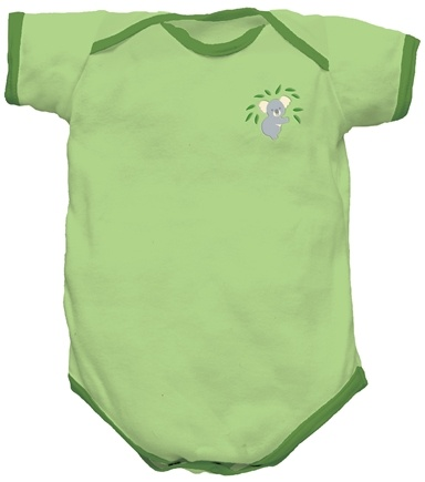 DROPPED: Green Sprouts - Origins Organic Bodysuit Short Sleeve Medium 6-12 Months Sage Green