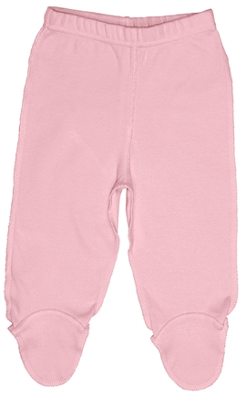 DROPPED: Green Sprouts - Origins Organic Footie Pants Small 3-6 Months Rose Pink