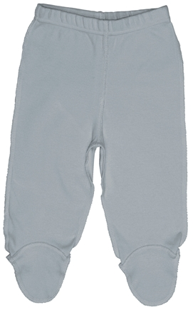 DROPPED: Green Sprouts - Origins Organic Footie Pants Newborn 0-3 Months Grey