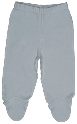 DROPPED: Green Sprouts - Origins Organic Footie Pants Small 3-6 Months Grey