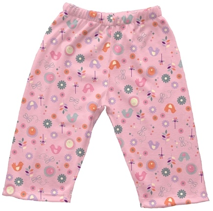 DROPPED: Green Sprouts - Origins Organic Pants Newborn 0-3 Months Chickadee Rose Pink