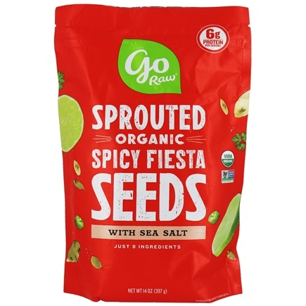 Go Raw - Sprouted Seeds Spicy Fiesta - 1 lb.